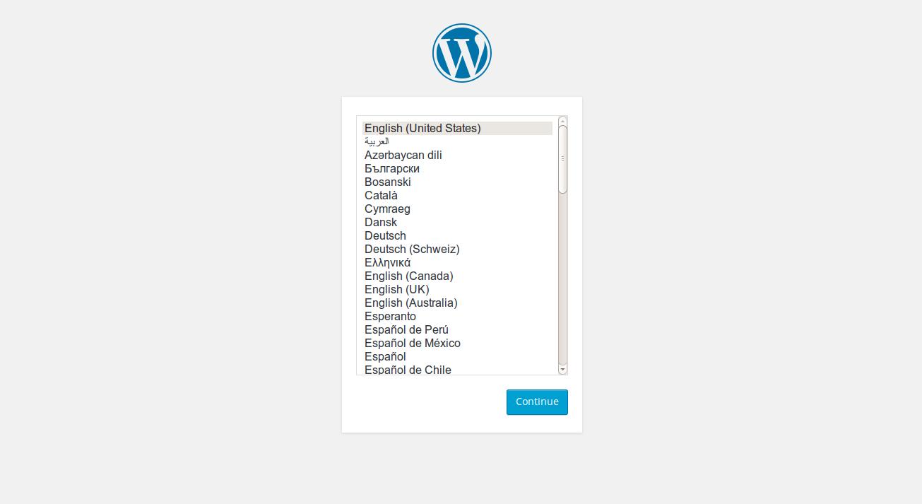 Language Select