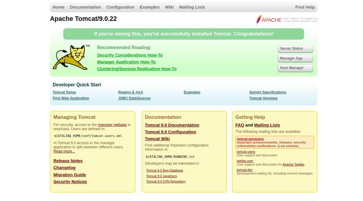 How to Install Apache Tomcat on Ubuntu 18 04 - LetsCloud