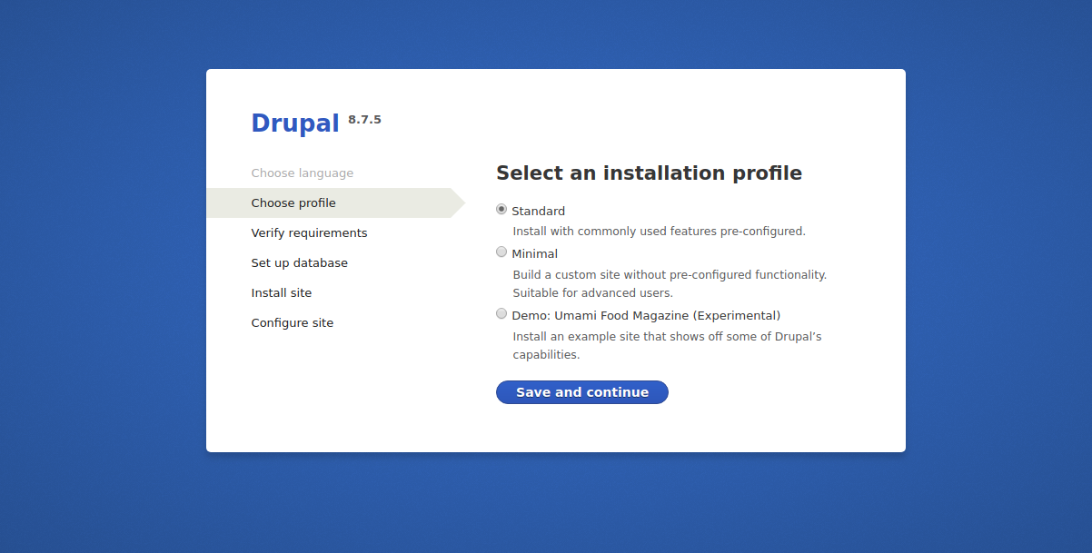 drupal-installation-profile