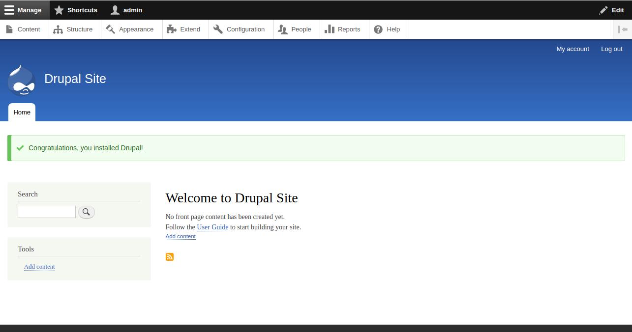 drupal-dashboard